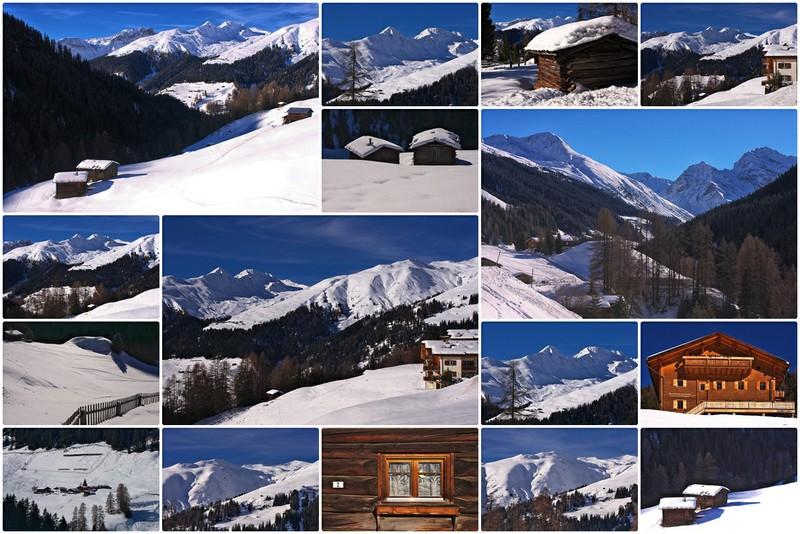 Graubünden im Winter