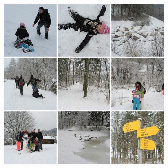 Winterwandern Wandergruppe
