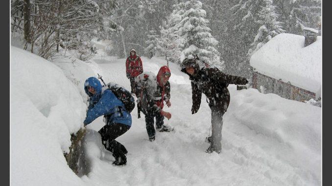 Wandern im Winter, Winterwanderungen Schweiz, Wanderfreunde, Wandergruppe