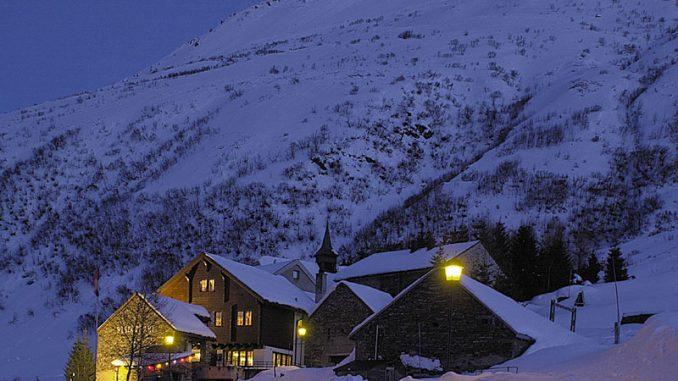 Zumdorf, das kleinste Dorf der Schweiz