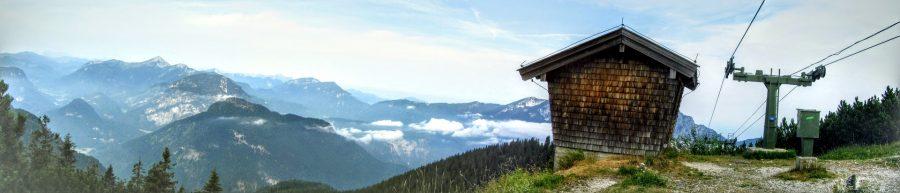 Mit der Predigtstuhlbahn ins Wanderparadies