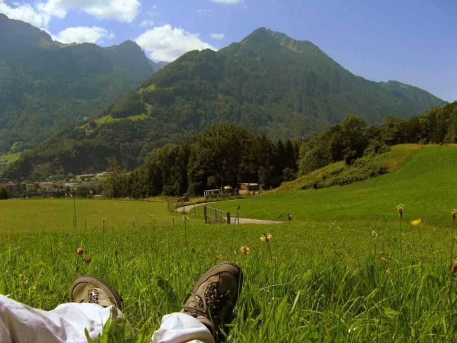 Wanderschuhe, Trekkingschuhe, Wandergruppe