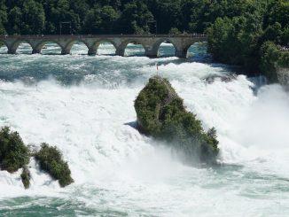 Rheinfall bei Neuhausen, Wanderung, Jestetten
