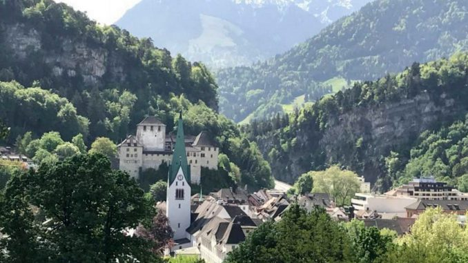 Blück über Feldkirch