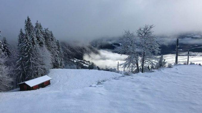 Winter Wandern Rigi