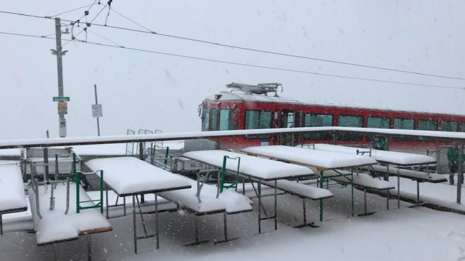 Winterwanderung Rigi Bahn