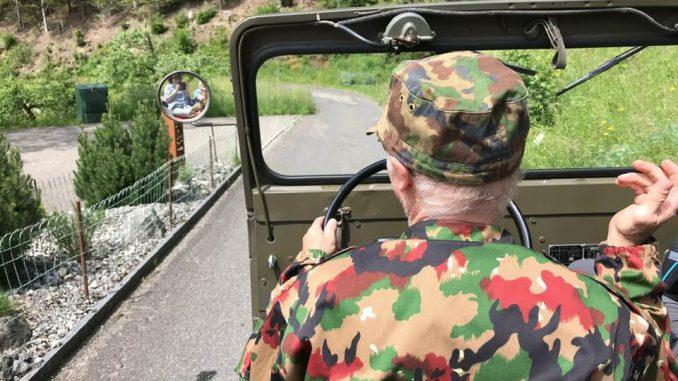 Mit dem Jeep durchs Emmental