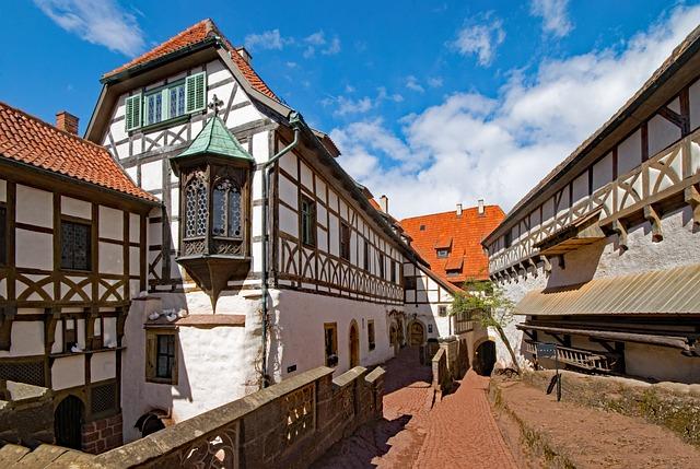 Die Wartburg in Eisenach/ Thüringen