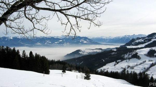 Höch Hirschberg im Winter
