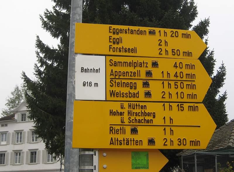 Winterwanderung in Appenzell, Rundwanderung Gais,